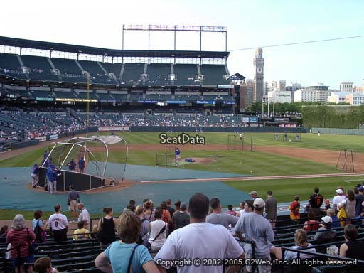 Seat view from section 26 at Oriole Park at Camden Yards, home of the Baltimore Orioles
