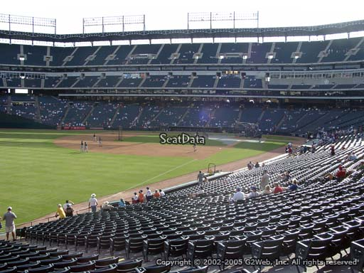 Seat view from section 112 at Globe Life Park in Arlington, home of the Texas Rangers