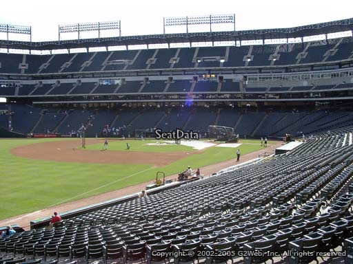 Seat view from section 12 at Globe Life Park in Arlington, home of the Texas Rangers
