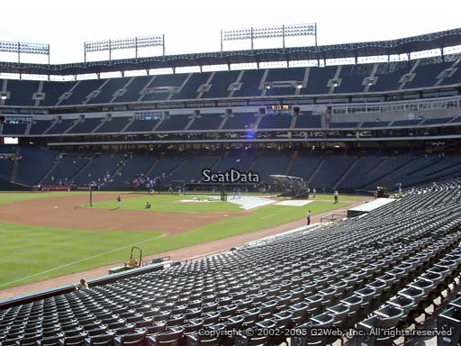 Seat view from section 13 at Globe Life Park in Arlington, home of the Texas Rangers