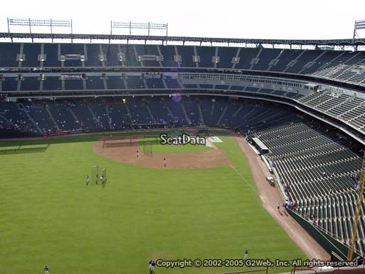 Seat view from section 303 at Globe Life Park in Arlington, home of the Texas Rangers