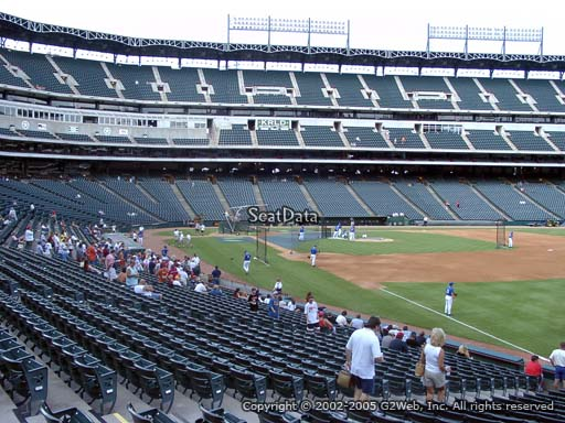 Seat view from section 39 at Globe Life Park in Arlington, home of the Texas Rangers