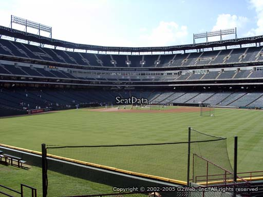 Seat view from section 51 at Globe Life Park in Arlington, home of the Texas Rangers