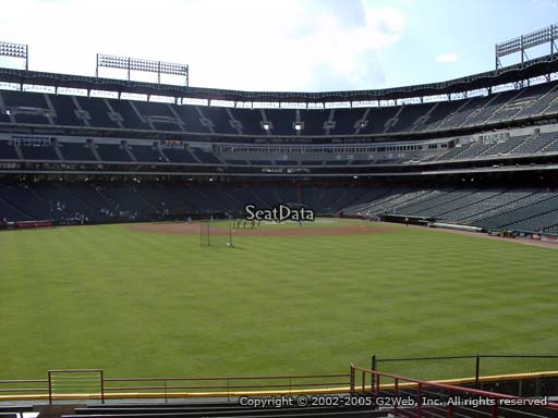 Seat view from section 54 at Globe Life Park in Arlington, home of the Texas Rangers