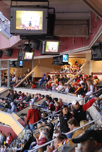 View of the Loge Seats at Fedex Field