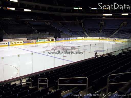 Seat view from section 119 at KeyBank Center, home of the Buffalo Sabres