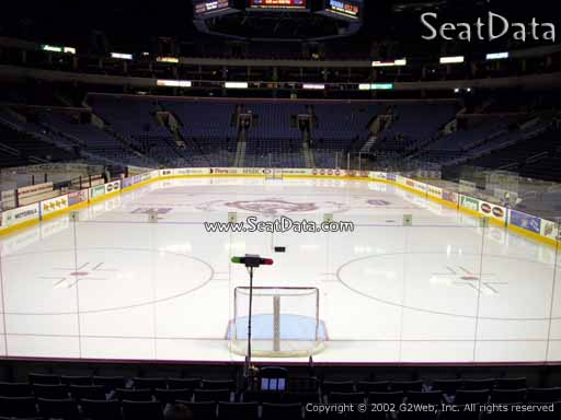 Seat view from section 123 at KeyBank Center, home of the Buffalo Sabres