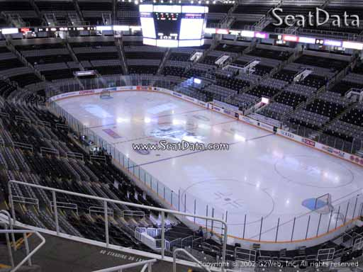 Seat view from section 211 at the SAP Center at San Jose, home of the San Jose Sharks