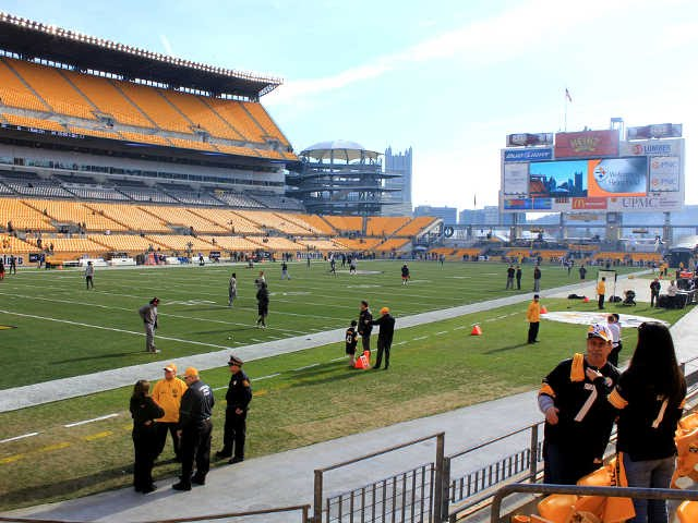 Seat view from section 126 at Heinz Field, home of the Pittsburgh Steelers