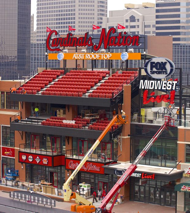 Photo of the AT&T Rooftop at Ballpark Village in St. Louis