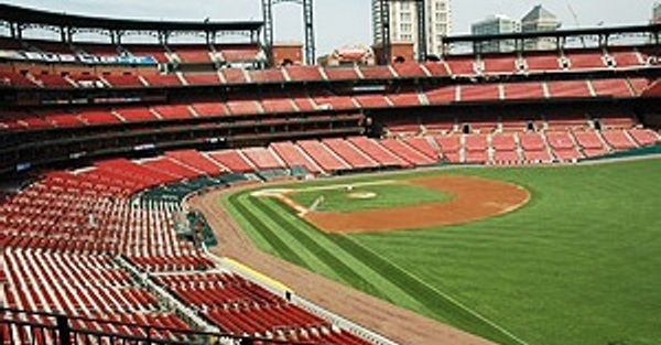 View from the Loge Seats at Busch Stadium
