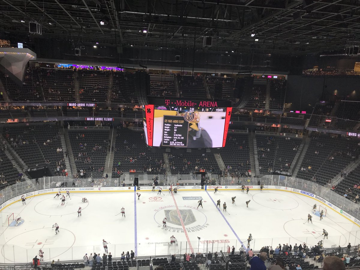 T-Mobile Arena Seating Chart, Views and Reviews | Vegas Golden Knights