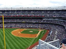 View from the Grandstand Seats at Yankee Stadium